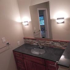 Contemporary Bathroom by Srw Contracting Inc