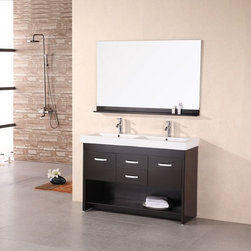 "Citrus 48"" Double Sink Vanity Set - http://www.furnishedup.com/"