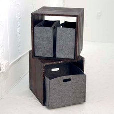 Contemporary Storage And Organization by Interior Provisions