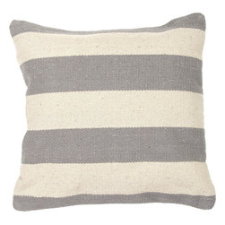 """Jaipur - Jaipur CD54 Pillow, 18""""X18"""" - Hand woven from 100% cotton the Cadiz pillow collection offers a range of open geometrics in bold color combinations. The collection coordinates with Jaipur Maroc and Urban bungalow flat weave rugs."""