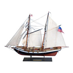 """Handcrafted Model Ships - Californian 24"""" - Wooden Model Tall Ship - Sold Fully Assembled"""