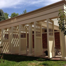 Contemporary  by Adjustable Patio Covers - NE, LLC