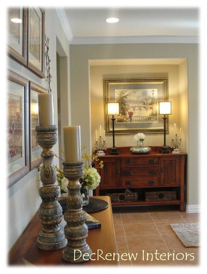 Traditional Entry by DecRenew Interiors