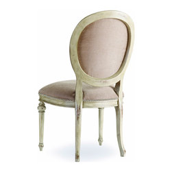 Hooker - Hooker Sanctuary Wilshire Side Chair (Set of 2) 200-3559 - The Wilshire Side Chair is the perfect display of your good taste. Its beauty draws upon the rest of your decor, reflecting your style and guaranteeing a perfect match. These pieces are constructed of extra-strong engineered hardwoods with durable fabric so you know your furniture will last a lifetime.
