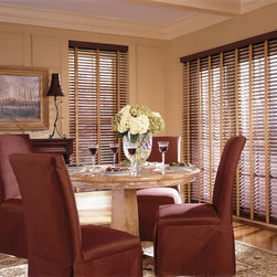 2 Inch Custom Faux Wood Blinds with Cotton Tape Liners - 2 Inch Custom Faux Wood Blinds with Cotton Tape Liners: Starting at $58.66