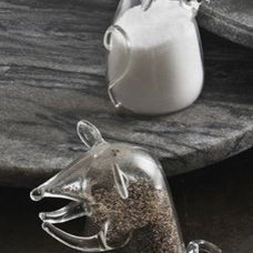 Eclectic Salt And Pepper Shakers And Mills by Zhush