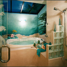Tropical Bathroom by Diane Plesset, CMKBD, NCIDQ, C.A.P.S.