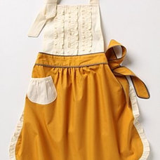 Eclectic Aprons tea and crumpets apron