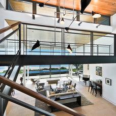 Modern Staircase by Dana Berkus Interiors