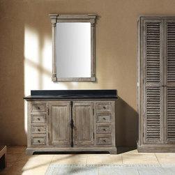 "56"" Ceprano Single Bath Vanity - Driftwood -"