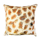 DD - Coral Reef Outdoor Pillow - Enjoy this Coral Reef pillow that will give you the sensation of being on an exotic beach resort right out of your own backyard