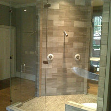 Contemporary Showerheads And Body Sprays by Guardian InGlass