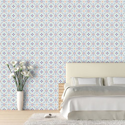 "Tiles Wallpaper 8.5'feet - ""Swag Paper - Empowering the Do-It-Yourselfer:"