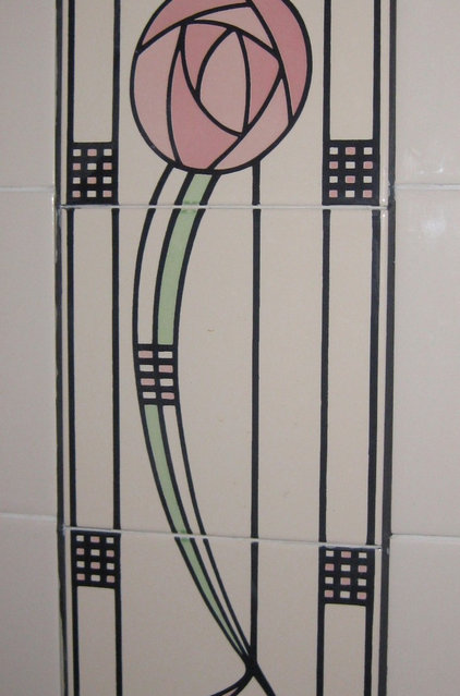 Modern  Art Deco bathroom inspirations