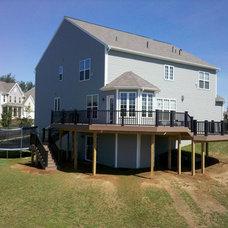 Traditional Exterior by J.P.Orlando Construction Inc.