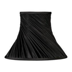 Laura Ashley - Laura Ashley Classic 7 in. Black Bell Clip Shade SFW007 - Shop for Lighting & Fans at The Home Depot. Founded in 1953, Laura Ashley has become a quintessential English brand, synonymous with quality, creativity, and individuality. Laura Ashley products are recognized worldwide for their colorful patterns and iconic floral prints. This black Laura Ashley clip lamp shade is made of faux silk, and will be a vibrant addition to any room.