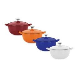 Mario Batali - Mario Batali by Dansk Classic 4-Quart Soup Pot - Mario Batali Classic Cookware offers even distribution of heat without hot spots and excellent heat retention. Lid ensures continuous natural basting.