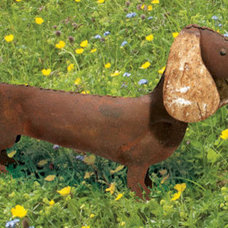 Eclectic Garden Sculptures by What on Earth