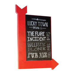 Right Angle Chalk Board - There's no right way or wrong way about it: this chalkboard is downright chic. Tack it to a wall and add a poem or quote to it daily.