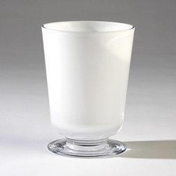 Global Views - Global Views BB-6.60003 Clean Line Transitional Vase - Small - Global Views BB-6.60003 Clean Line Transitional Vase - Small