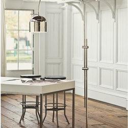 Arc Dome Shade Floor Lamp -