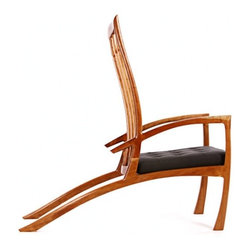 EcoFirstArt - LOS GALOS LOUNGER - Sleek, stylish and utterly eye-catching, this handcrafted chair is handsome indeed. Ergonomically designed with long lines so graceful the whole piece appears to be leaping, it brings a seamless blend of comfortable function and striking form to your space.