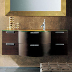 modern bathroom vanities and sink consoles Archeda 8 Vanity And Mirror