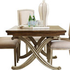 Hooker Furniture - Hooker Furniture Sanctuary Rectangular Dining Table in Dune and Amber Sands - Hooker Furniture - Dining Tables - 300275206 - Pursue serenity at home...Create your own personal sanctuary a special place where you can experience...comfort within.