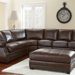 Steve Silver Henry Sectional Sofa Set By Steve Silver