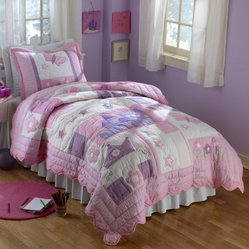 Pem America Princess Quilt Set