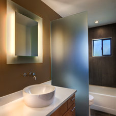 Southwestern Bathroom by Spry Architecture