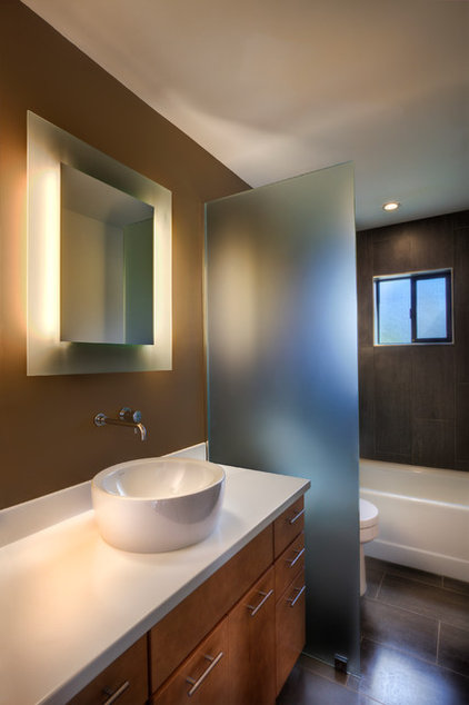 modern bathroom by Spry Architecture