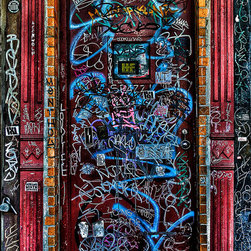 """Door To?, 48"""" X 72"""" - Limited Edition, Signed and Numbered. Editions of 10 Per Size. Metallic C-print on fine art quality archival photographic paper / C-Print Direct to Dibond with Aluminum."""