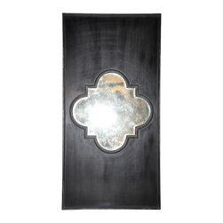 Good Luck Mirror - A mirror and piece of wall art all in one, this is a great stand-alone piece. The centered design allows it to be leaned or hung horizontally or vertically. It is also interesting enough to be used as art with three hung side by side. It's versatile and intriguing.