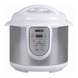 NESCO - Nesco PC6-14 4-in-1 Digital Pressure Cooker (6-Liter) - 1,000W