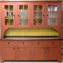 Very Large Hutch - Reclaimed Wood Hutches are beautifully classic and durable pieces. These pieces can be customized to look sleek or rustic but always are casually elegant. www.lakeandmountainhome.com 978-505-3222