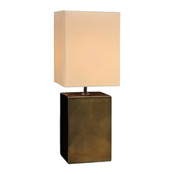 Natural Design House - Mini Metallic Lamp - For a bold and rich lighting accent that looks stunning with contemporary home decor, metallic table lamps are the perfect match, You'll feel like a million bucks with the Bronze color lamps in your home, but the cost of this great style won't break your bank. Perfect for use as bedside lamps, these metallic lamps could essentially be used in just about every room in the home and office.
