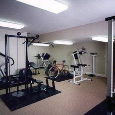 Contemporary Home Gym by Visnic Homes