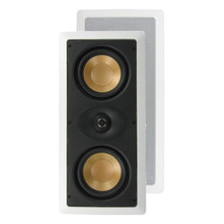 "InwallTech - InwallTech M525.1LCR 5 1/4""Dual Aluminum LCR Theater Speakers - - LIFETIME WARRANTY"