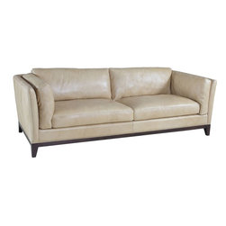 Hooker Furniture - Hooker Furniture Zorra Canela Sofa - Developed by one of America's premier manufacturers to offer quality furniture at affordable prices. Each piece is meticulously hand-crafted using the most exquisite leathers in the world. The Zorra Canela SofaCrafted using Zorra Canela (Light Mustard) leather.