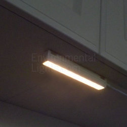 """MaxLite - MLSDLB9627LED Warm White 9 LED Undercabinet Light Bar MaxLite - These excellent LED under cabinet lights from Maxlite have built-in diffusers and grounded accessory cords and feature ETL safety ratings (file 4004814.) The MaxLite Plug and Play bars offer three major advantages over most LED undercabinet bars: They are """"self-driven,"""" which means you can connect them directly to 120 Volts AC. They do not require discrete drivers, which step down and rectify 120 Volts AC to a lower DC voltage, required by LEDs. Therefore, installation is simpler. They are dimmable, using specific dimmers we recommend as companion parts. DO NOT USE use CL, incandescent or magnetic low voltage dimmers. The light bars have built-in diffusers to hide the """"dots,"""" or points of light that may reflect off countertops and other shiny surfaces."""