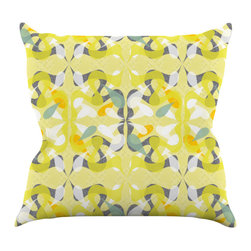 "Kess InHouse - Miranda Mol ""Spring Flourish"" Throw Pillow (18"" x 18"") - Rest among the art you love. Transform your hang out room into a hip gallery, that's also comfortable. With this pillow you can create an environment that reflects your unique style. It's amazing what a throw pillow can do to complete a room. (Kess InHouse is not responsible for pillow fighting that may occur as the result of creative stimulation)."
