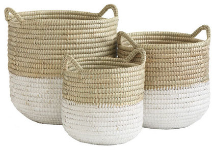 mediterranean baskets by Wisteria