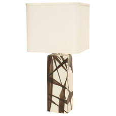 Contemporary Table Lamps Narrow Square Lamp