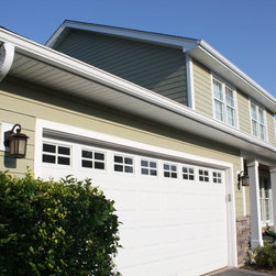 Smooth Hardie Plank in Heathered Moss - James Hardie Fiber Cement Siding - Green James Hardie Fiber Cement Siding: Heathered Moss Smooth HardiePlank |