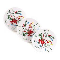 Bernardaud - Summer Play Dessert Plates - Sold at Vivre.