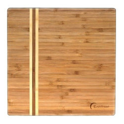 BergHOFF Large Bamboo Chop Block - Featuring clean lines, this high quality chopping board can be an ideal addition to any modern kitchen. The BergHOFF Large Bamboo Chop Block is designed to make working in the kitchen easier. This chopping board is also an eco-friendly alternative to traditional wooden cutting boards. It's made from vertical-grain bamboo, treated with food grade mineral oil, which makes it perfect for light chopping and cutting. Moreover, this board is ideal for carving meats. For this bamboo item, Washing by hand is recommended.