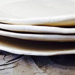 Modern White Dinner Plates -