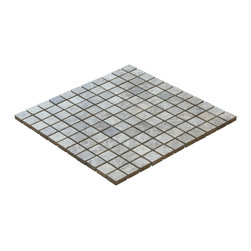 """CMM Tile - 1""""x1"""" Emperador Brown Honed Mosaic - 1""""x1"""" Emperador Brown Honed Mosaic - This stunning marble mosaic is perfect for any backsplash, bathroom floor and walls or even just as accent border or trim. Comes in a 12""""x12"""" sheet (1sf) for easy installation. Featured in an elegant honed finish."""