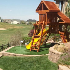 Contemporary Outdoor Playsets by Greens With Envy LLC